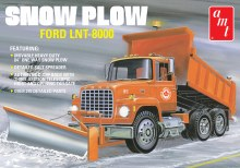 1:25 Scale Ford LNT-8000 Snow Plow - AMT1178