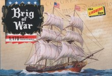 1:170 Scale Brig of War - LIN0HL203