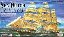 1:96 Scale Sea Witch Clipper Ship - LIN70812