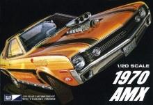 1:20 Scale 1970 AMC AMX Car - MPC814