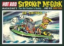 Stroker McGurk Surf Rod Caricature - MPC873