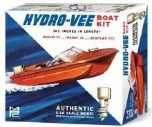 1:18 Scale Hydro-Vee Boat - MPC883