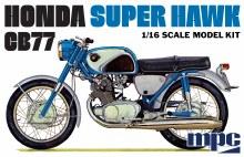 1:16 Scale Honda Super Hawk Motorcycle - MPC898