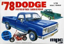 1:25 Scale 1978 Dodge D100 Custom Pickup - MPC901