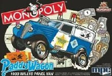 1:25 Scale 1933 Willys Panel Paddy Wagon (Monopoly) 2T - MPC924