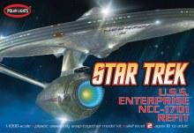 1:1000 Scale USS Enterprise NCC-1701 Refit Snap Kit - POL820
