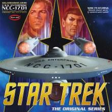 1:350 Scale Star Trek USS Enterprise NCC-1701 50th Anniversary Edition - POL938