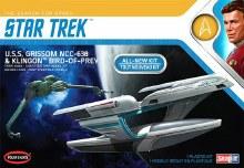 1:1000 Scale Star Trek USS Grissom/Klingon BoP (2-pack) Snap Kit - POL957