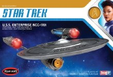 1:2500 Scale Star Trek USS Enterprise NCC-1701 Snap Kit - POL971