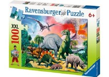 Among The Dinosaurs XXL 100pc - RB10957