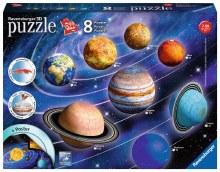 Planetary Solar System 3D 522pc - RB11668