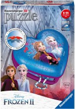Frozen II Heart 3D Puzzle 54pc - RB12120