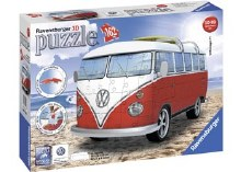 VW Combi Bus 3D Puzzle 162pc - RB12516