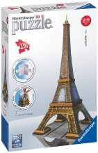 Eiffel Tower 3D Puzzle 216pc - RB12556