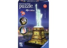 Statue Of Liberty At Night 3D Puzzle 108pcs - RB12596
