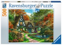 Cottage In Autumn 500pc - RB14792