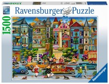 The Painted Ladies 1500pc - RB16261