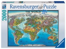 World Map 2000pc - RB16683