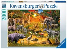 Gathering At The Waterhole 2000pc - RB16702