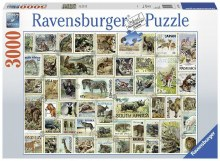 Animal Stamps 3000pc - RB17079