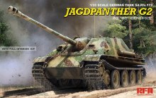 1:35 Scale Jagdpanther G2 w/Full Interior & Workable Track Links - RM-5022