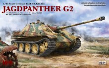 1:35 Scale Jagdpanther G2 w/Workable Track Links - RM-5031