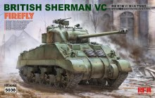 1:35 Scale British Sherman VC Firefly w/Workable Track Links & Suspension System - RM-5038