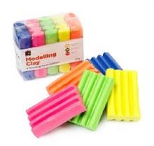 Fun Clay Fluoro 5 Colours 50gm