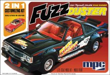 1:25 Scale 1980 Plymouth Volare Fuzz Duster - MPC843