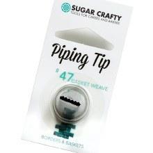 Icing Tip Basket Weave 47