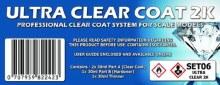 Acrylic Ultra Clear Coat 2K Set - SET06