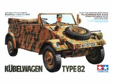1:35 Scale German Kübelwagen Type 82 - T35213