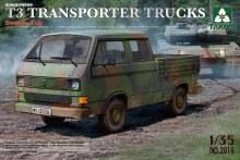 1:35 Scale Bundeswehr T3 Transporter Trucks/Double Cab - 2014