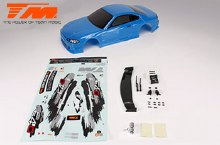 Body - 1:10 Touring / Drift - 190mm - Painted - no holes - S15 Blue - TM503319BA