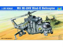 1:35 Scale Mil Mi-24V Hind-E Helicopter - TR05103