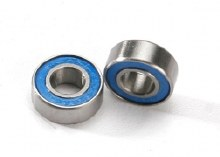 Ball Bearings, Blue Rubber Sealed, 6x13x5mm - 5180