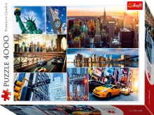 New York City Collage 4000pc - TRE45006