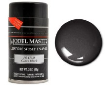 Enamel Black Gloss (F) Spray 85g - TTMM1947