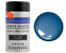 Enamel Arctic Blue Metallic (G) Spray 85g - TTMM2902
