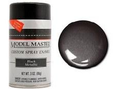 Enamel Black Metallic (G) Spray 85g - 2913