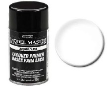 Enamel Superfine White Primer Spray 85g - 2961