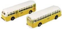 N Scale GMC TD 3610 Transit Bus 2 Pack Los Angeles - 22152303