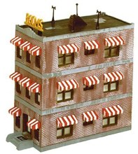 HO Scale Belvedere Downtown Hotel Kit - 433-1339