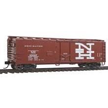 HO Scale 40' Plug-Door Boxcar New Haven #45097 - 910-1558