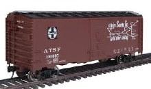 HO Scale 40' AAR 1944 Boxcar Atchison, Topeka & Santa Fe #139145 - 910-1651