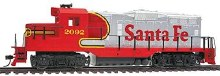 HO Scale EMD GP9M Santa Fe #2092 Standard DC - 931113