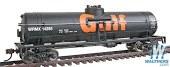 HO Scale 40' Tank Car Gulf Oil Company - 931-1612