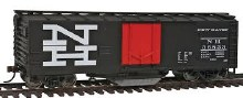 HO Scale 40' Plug-Door Track Cleaning Boxcar New Haven - 931-1755