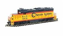 HO Scale EMD GP9M Chessie System B&O #5978 Standard DC - 931-452