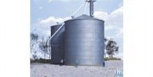 HO Scale Big Grain Storage Bin Plastic Kit - 9333123